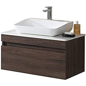 Virtu Usa Um 3081 C Es Antonio Wall Mounted Single Sink