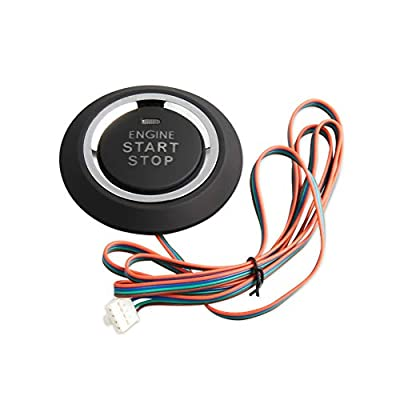 EASYGUARD P1 Replacement push engine start stop button for ec002 or es002 or ec110 series (P1 style, blue,green): Automotive