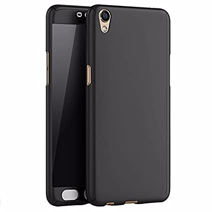outlet store 4cf48 615ed Oppo A37f 360 Degree Full Cover from Mercator - Black: Amazon.in ...