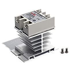 Solid State Relay and Heat Sink SSR 40am...