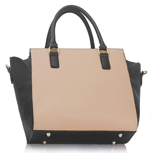 Handbag Nude CWS00353 Leather Ladies Cross Women's Bags Hot Body Faux Selling Tote Quality Style Fashion Designer Black Celebrity TZvWqT6