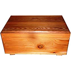 Pet Coffin Casket for Cats or Small Dogs 20 x 15 x 8 Inches