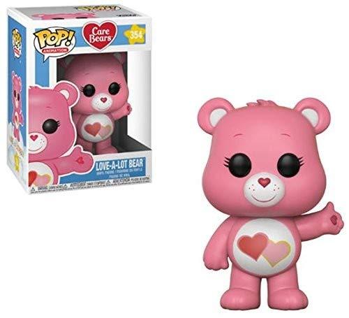 Funko POP! Animation: Care Bears Love-A-Lot Bear Collectible Figure, Multicolor
