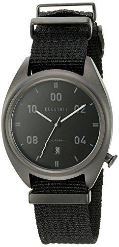 Electric Unisex EW0150020005 Analog Display Japanese Quartz Black Watch