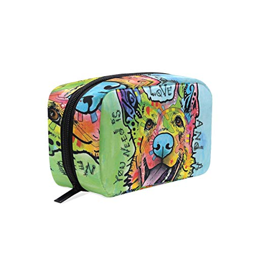 - Travel Toiletry Makeup Bag German-Shepherd-Dog-Dean-Russo Cosmetic Bags Women's Portable Brushes Case Toiletry Bag Travel Kit Jewelry Organizer Multifunctional Pouch