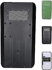 SHIJIU SHIMENG Protective Cover, Police, swat, Real Size, Metal, Rectangular, and Transparent,90x50cm