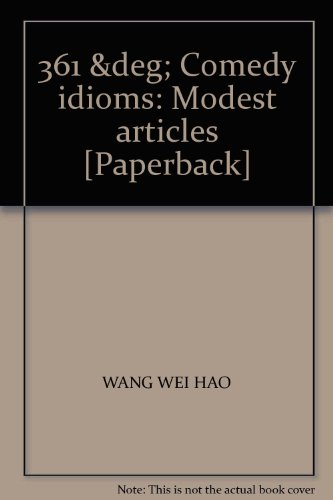 361-comedy-idioms-modest-articles-paperback