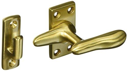 Satin Fastener Casement Brass - Baldwin 0494040 Casement Fastener, Satin Brass