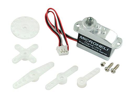 Microheli Digital Ultra-Micro Precision Reversed Servo (Metal Gear) - BLADE 180 CFX