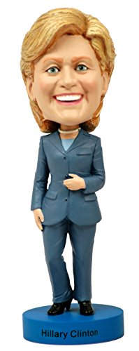 Royal Bobbles Hillary Clinton Bobblehead