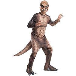 Rubie 's Costume Jurassic World T-Rex Niño Disfraz, Un solo color, Mediano