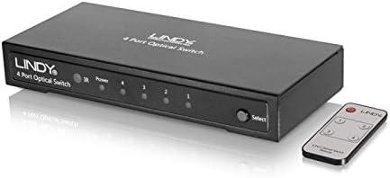 LINDY 2 Port Auto Optical Switch