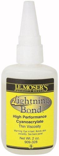J.E. Moser's 909328, Adhesives, Instant, Thin Viscosity Lightning Bond