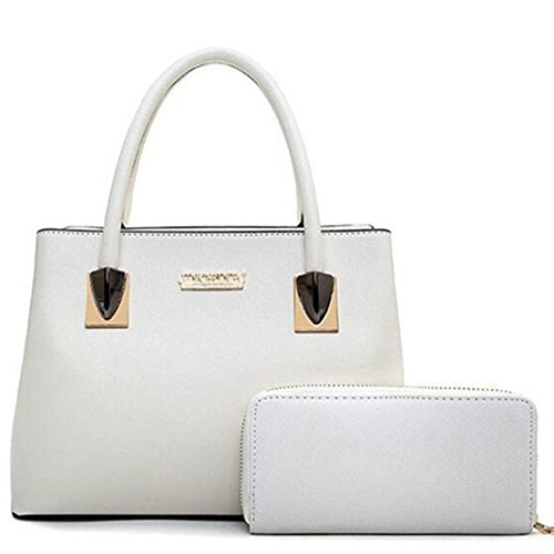 Luxurylady #53 Elegant Noble Design Two-pieces Tote Cross Body Bag For Women£¨c3)