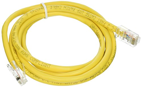Cable,CAT5E,UTP,RJ45M/M,5',YLW,Patch