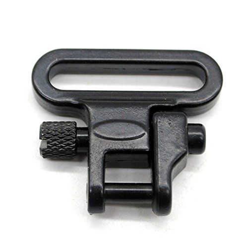 1 Pair Sling Swivels 1 Inch Heavy Duty 300 LB Quick Detach for Hunting Rifle Sling by Trirock (Image #2)