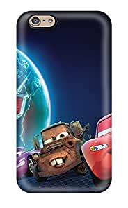 Flexible Back Case Cover For Iphone 6 - Cars 2 Movie