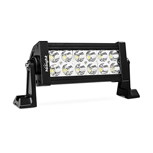 Small light bar amazon nilight 7 36w spot led work light off road led light bar 12v driving lights super bright for jeep cabin boat suv truck car atvs2 years warranty aloadofball Image collections