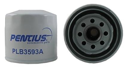 Pentius PLB3593A Red Premium Line Spin-On Oil Filter for Acura,Chevrolet,Dodge,Ford,Geo,Honda Accord,Hyundai,Isuzu,Kia,Mazda,Pontiac