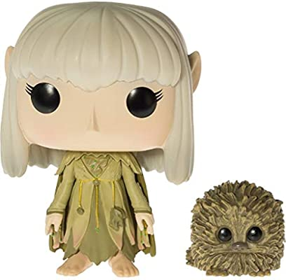 BCC940V74 Movies Vinyl Figure /& 1 POP #340 // 09690 - B Funko Kira /& Fizzgig : The Dark Crystal x POP Chase Edition Compatible PET Plastic Graphical Protector Bundle