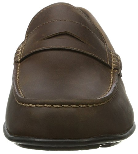 Rockport Hit the Road Penny Tq, Mocasines para Hombre Braun (brown 2)