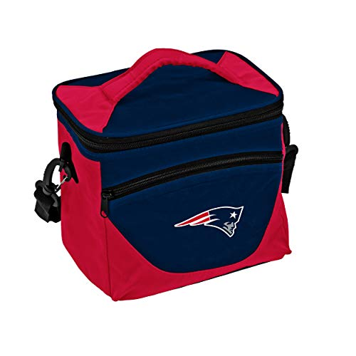 - Logo Brands NFL New England Patriots Halftime Lunch Cooler, One Size, Navy