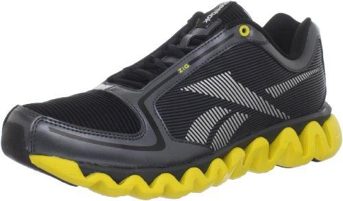 UPC 886407399929, Reebok Men's Ziglite Running Shoe,Gravel/Black/Silver/Yellow,10.5 M US