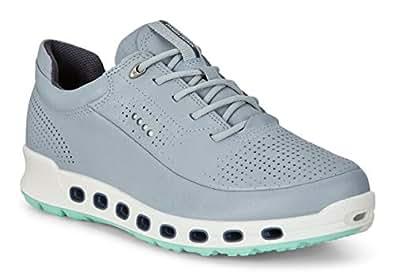 Ecco Women's COOL 2.0 leather Sneakers, Blue, 35 EU
