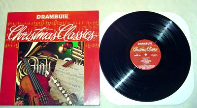 Drambuie Christmas Classics LP - Odyssey Records