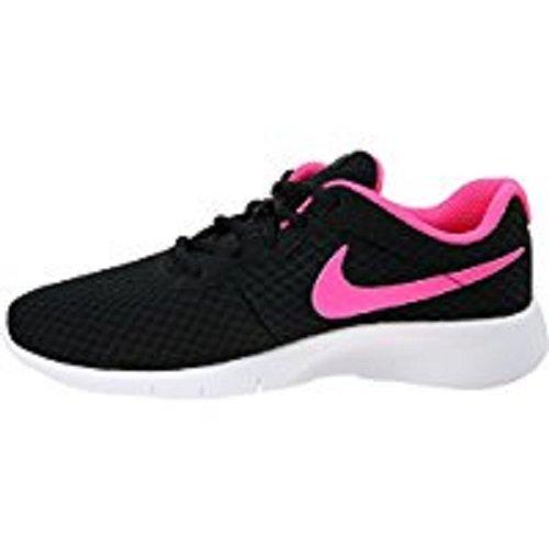 NIKE Kids Tanjun (GS) Black/Hyper Pink White Running Shoe 4 Kids US by Nike (Image #8)
