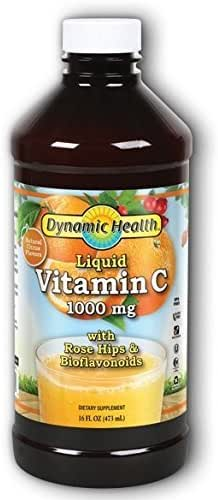 Dynamic Health Liquid Vitamin C 1000 mg, 16 Ounce