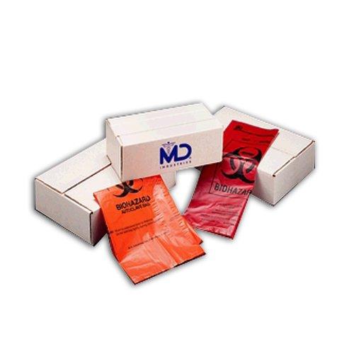 Medegen Medical Products 8-700 Green Autoclavable Bag, 1.8 mil Gauge, 14'' x 19'' (Pack of 200)