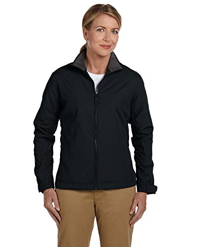 Devon And Jones Classic Jacket (Devon & Jones Ladies Three-Season Classic Jacket, Medium, BLACK)