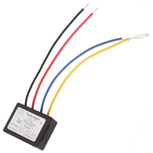 DC 6-12V On/OFF Touch Switch for LED Light Source Lamp