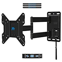 Mounting Dream Full Motion TV Wall Mount Bracket MD2463-P for 17 to 39 TV and VESA up to 200x200mm