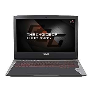 "CUK ASUS ROG G752 Gaming Notebook PC (i7-6700HQ, 32GB RAM, 256GB SSD + 1TB HDD, NVIDIA Geforce GTX 1060 6GB, 17.3""Full HD IPS, Windows 10) 2016 Newest Republic of Gamers Laptop Computer"