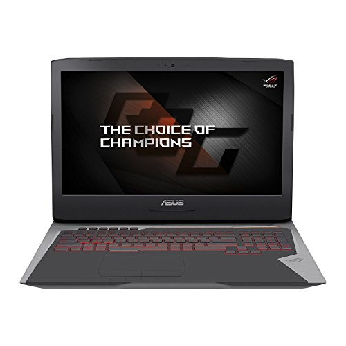 "CUK ASUS ROG G752 Gaming Notebook PC (i7-6700HQ, 32GB RAM, 256GB PCIe SSD + 1TB HDD, NVIDIA Geforce GTX 1060 6GB, 17.3""Full HD IPS, Windows 10) 2016 Newest Republic of Gamers Laptop Computer"