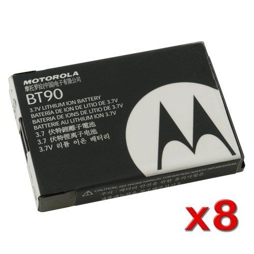 (LOT OF 8) MOTOROLA OEM BT90 (SNN5759) EXTENDED HIGH PERFORMANCE BATTERIES FOR I580 I880