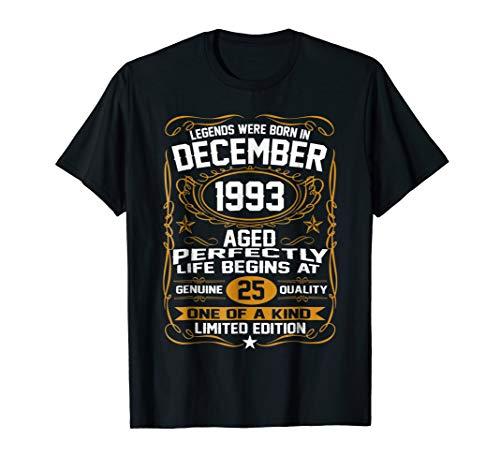 December 1993 25th Birthday Gift 25 Year Old For Men Women ()