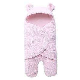 Saco de dormir para recién nacidos rosa