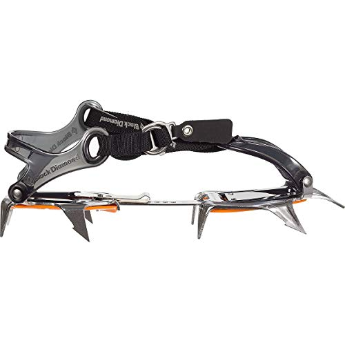 Black Diamond Contact Strap Crampon, Polished