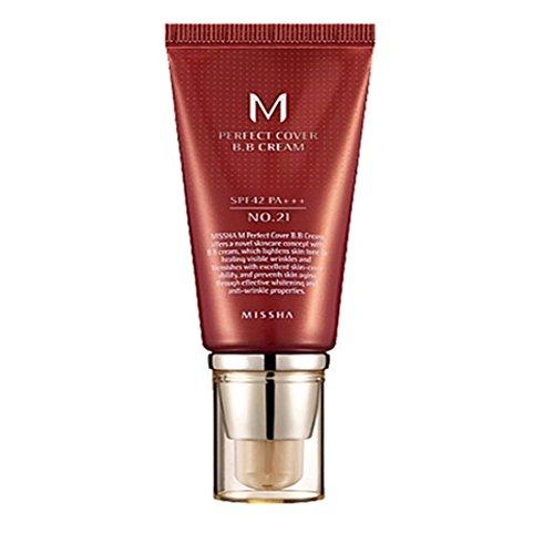MISSHA M Perfect Cover BB Cream No.21 No.23 Natural Beige SP