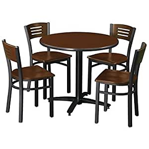 break room table and four chairs kitchen dining. Black Bedroom Furniture Sets. Home Design Ideas