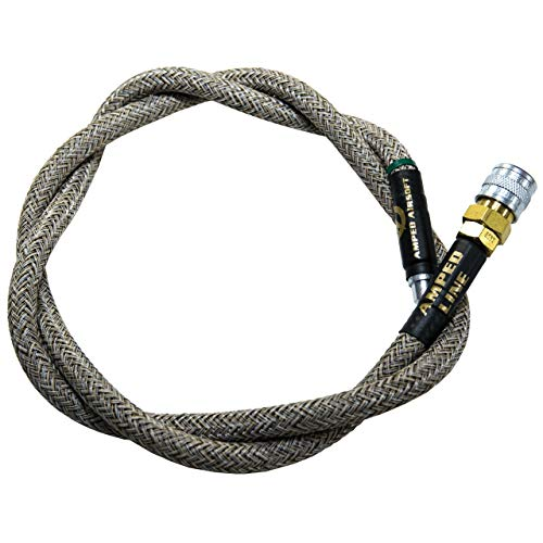 AMPED Airsoft Amped Line   Heavy Weave for PolarStar, Wolverine, and Redline HPA Units 42 Inch Sand Heavy