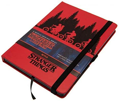 Upside Down A5 Premium Notebook Stranger Things