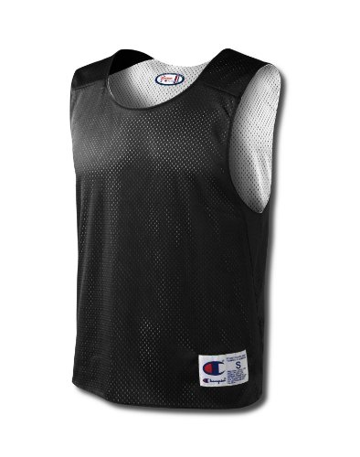 Champion REVERSIBLE JERSEY (style N313 and N316 and LX70Y), Black/White, Large/X-Large