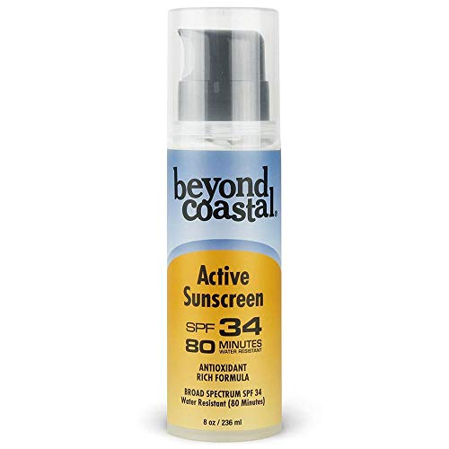 Oil Isopropyl Palmitate Shea Butter - Beyond Coastal 8 Oz. Spf 34 Active Pump Sunscreen One Color NO SIZE