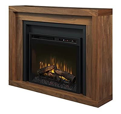 Dimplex - Electric Fireplace and Mantel with Log Set - Anthony #GDS28L8-1942WL