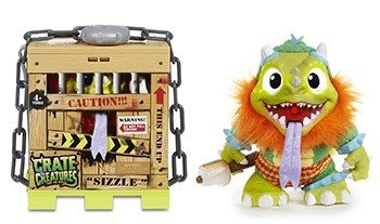 Crate Creatures set of 2, Sizzle and Blizz with FREE Crazy Aaron's Thinking Putty Mini by crate creatures (Image #4)