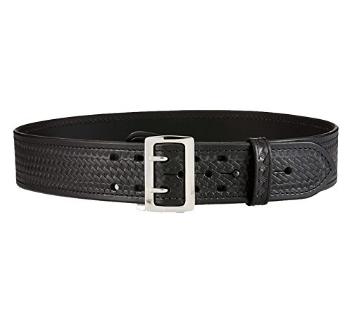 (Aker Leather B01 Sam Browne Leather-Lined Duty Belt, 2-1/4